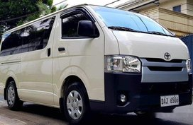 White Toyota Hiace 2019 at 9743 km for sale