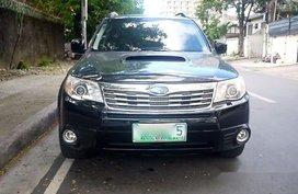 Black Subaru Forester 2011 Automatic Gasoline for sale