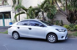Silver Toyota Vios 2014 at 50000 km for sale in Quezon City