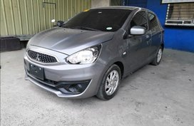2nd Hand 2017 Mitsubishi Mirage Hatchback for sale in Quezon City