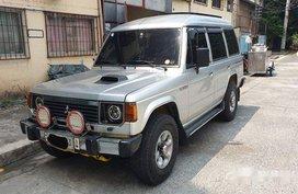 Silver Mitsubishi Pajero 1989 for sale in Manila