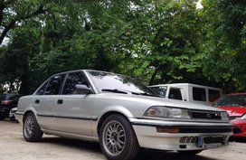 Silver Toyota Corolla 1990 for sale in Rosario