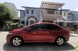 Sell Red 2010 Honda City Automatic in Carmona