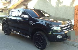 Black Ford Ranger 2013 Manual Diesel for sale