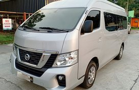 Silver 2018 Nissan Urvan Van at 21000 km for sale