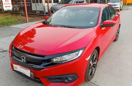 Red 2018 Honda Civic at 11000 km for sale
