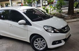 White 2016 Honda Mobilio at 50000 km for sale