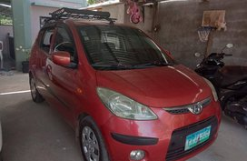 Sell Red 2010 Hyundai I10 Hatchback at 60000 km