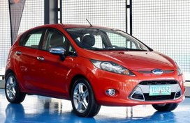 Selling Ford Fiesta 2011 Hatchback in Quezon City