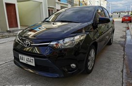 Black 2014 Toyota Vios at 98000 km for sale