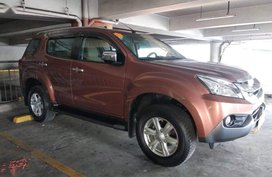 Isuzu Mu-X 2016 for sale in Quezon City