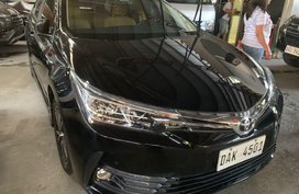 Black Toyota Corolla Altis 2018 for sale in Quezon City