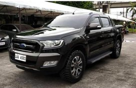 Selling Black Ford Ranger 2017 in Pasig