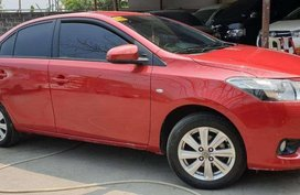 Sell Red 2017 Toyota Vios in Quezon City