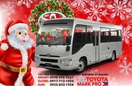 2020 Toyota Coaster Minibus MT