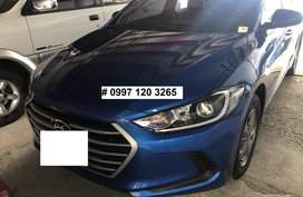 Sell Blue 2018 Hyundai Elantra Manual Gasoline