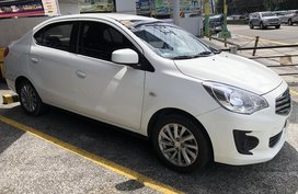 White 2018 Mitsubishi Mirage G4 at 11700 km for sale