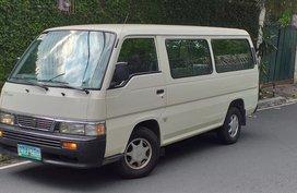 White 2009 Nissan Urvan Manual Diesel for sale