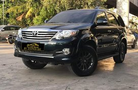 2015 Toyota Fortuner 2.7G VVTi 4x2 Automatic Gasoline Black Edition for sale