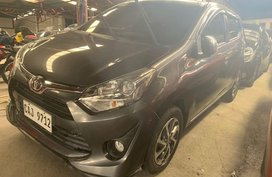 Selling Grey Toyota Wigo 2018 in Quezon City