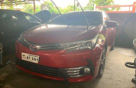 Red Toyota Altis 2018 for sale