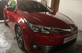 Sell Red 2018 Toyota Corolla Altis in Quezon City