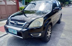 Black Honda Cr-V 2004 for sale in Manila