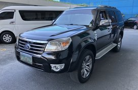 Selling Black Ford Everest 2011 at 75000 km in Las Pinas