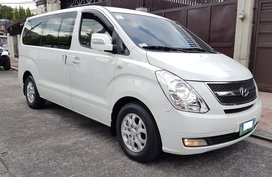 White 2009 Hyundai Starex for sale in Marikina