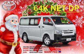 Selling Brand New Toyota Hiace Commuter 2020 in Mandaluyong