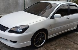 White 2007 Mitsubishi Lancer at 89000 km for sale in Baguio