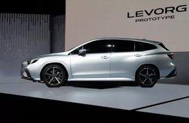 Subaru unveils the 2020 Subaru Levorg Prototype at the 2019 Tokyo Motor Show
