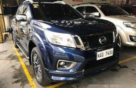 Selling Blue Nissan Frontier navara 2017 Automatic Diesel
