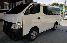 Sell White 2018 Nissan Nv350 Urvan Manual Diesel at 23700 km