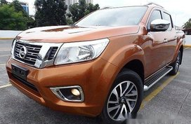 Selling Orange Nissan Frontier navara 2018 at 16000 km