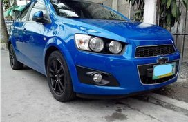Chevrolet Sonic 2013 for sale in Quezon City