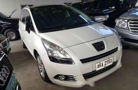 White Peugeot 5008 2014 Automatic Diesel for sale