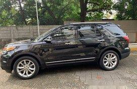 Black Ford Explorer 2014 at 35000 for sale in Manila