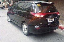 Selling Black Toyota Previa 2016 Automatic Gasoline in Manila