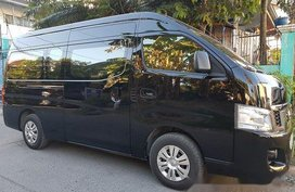 Black Nissan Nv350 Urvan 2018 for sale in Caloocan