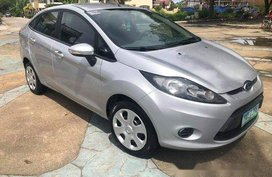 Used Silver Ford Fiesta 2011 for sale in Talisay
