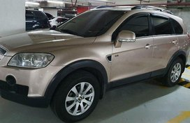 Beige Chevrolet Captiva 2011 for sale