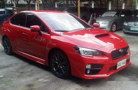 Red Subaru Wrx 2014 Sedan for sale in Pasig
