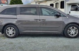 Silver Honda Odyssey 2012 for sale