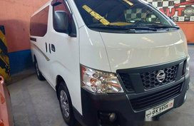 Sell White 2017 Nissan Nv350 Urvan in Quezon City