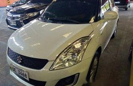 Sell White 2016 Suzuki Swift in Quezon City