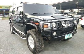 Selling Black Hummer H2 2005 in Pasig