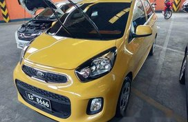 Selling Yellow Kia Picanto 2016 Manual Gasoline