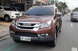 2016 Isuzu Mu-X for sale in Quezon City