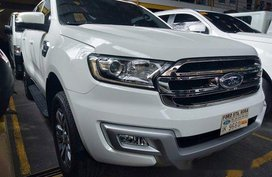 Sell White 2016 Ford Everest in Quezon City